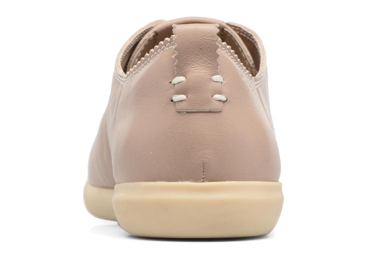 Trainers Geox D NEW DO A D724NA Beige view from the right
