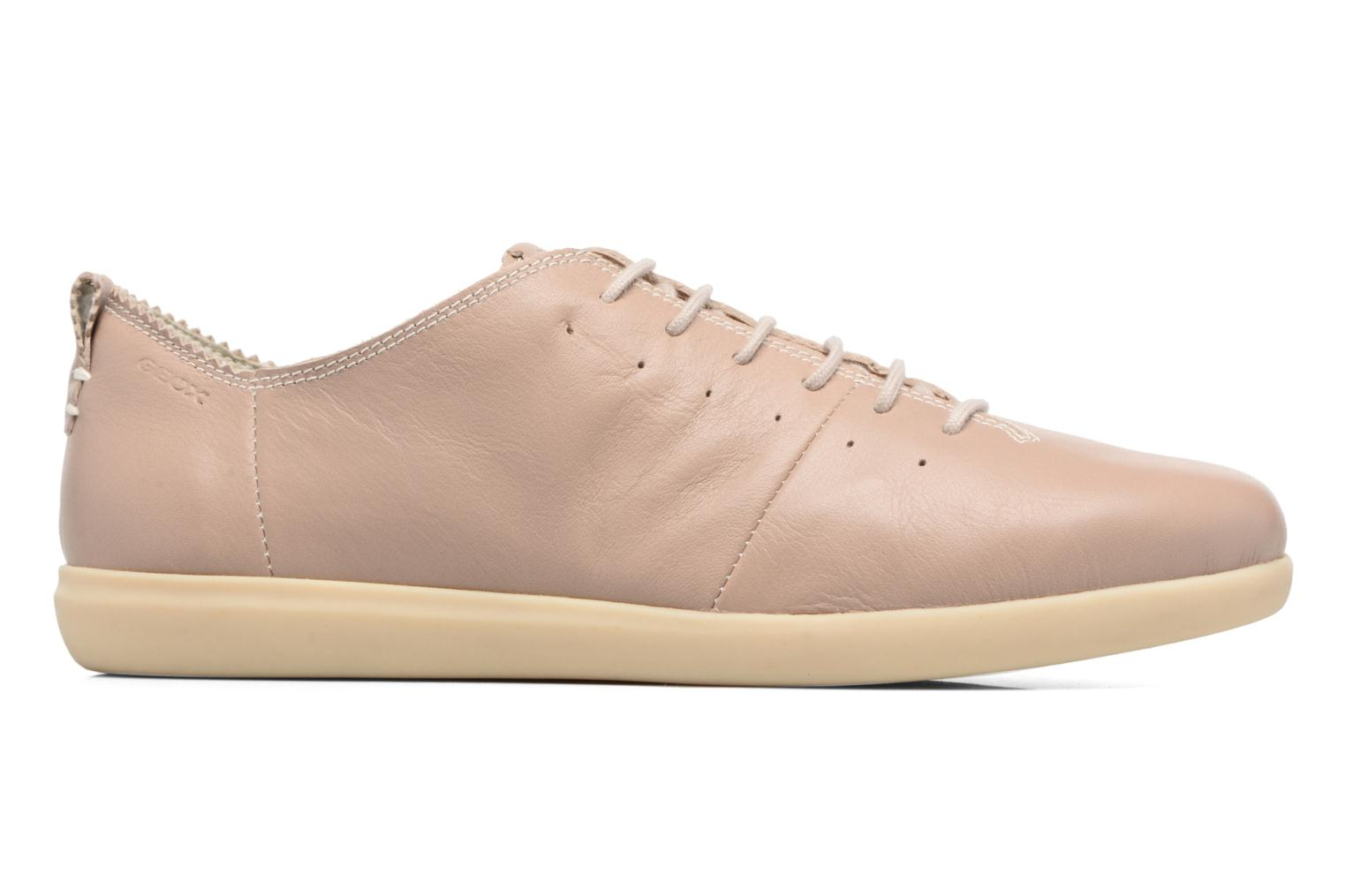 Sneakers Geox D NEW DO A D724NA Beige se bagfra