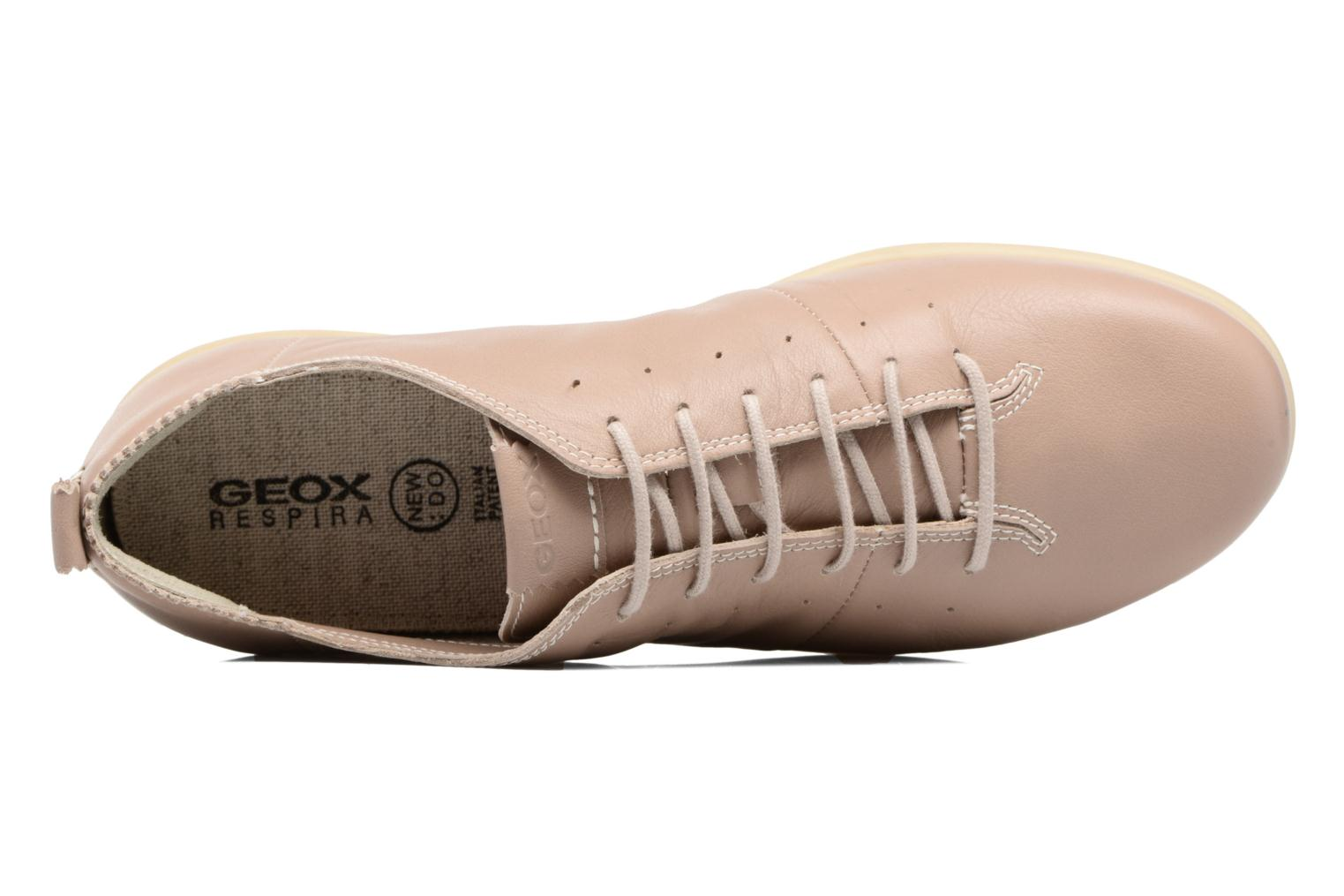 Trainers Geox D NEW DO A D724NA Beige view from the left