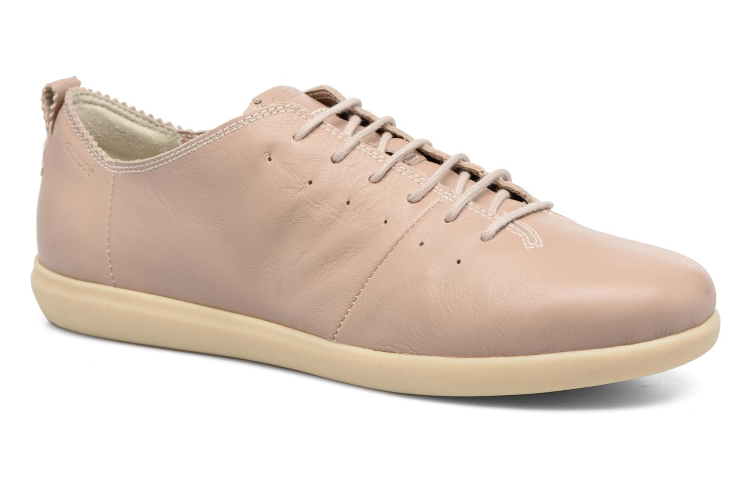 Trainers Geox D NEW DO A D724NA Beige detailed view/ Pair view