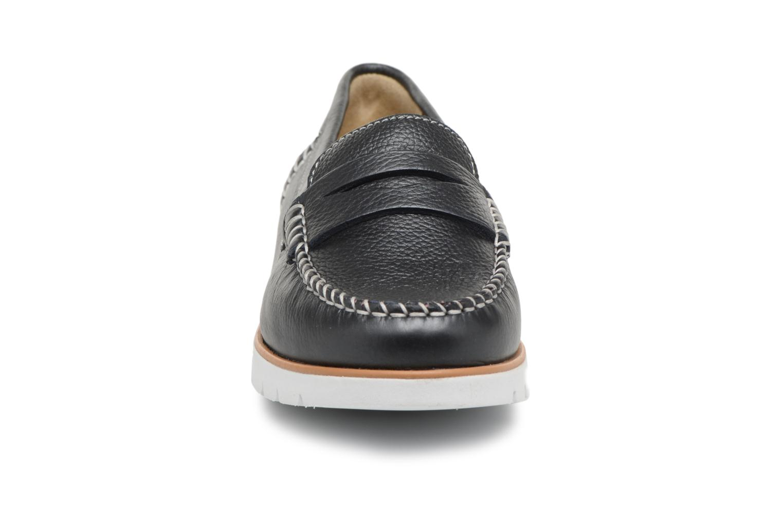 Mocassins Geox D KOOKEAN F D724PF Noir vue portées chaussures