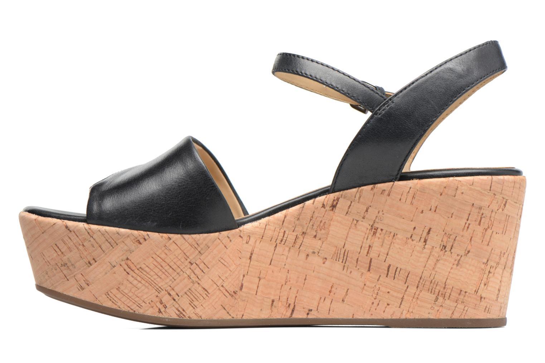 Sandales et nu-pieds Geox D SAKELY A D724VA Noir vue face