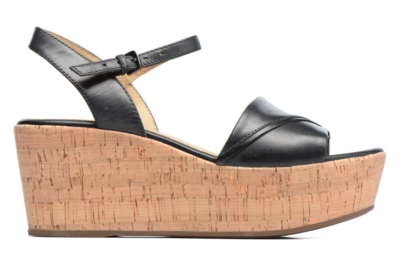 Sandales et nu-pieds Geox D SAKELY A D724VA Noir vue derrière