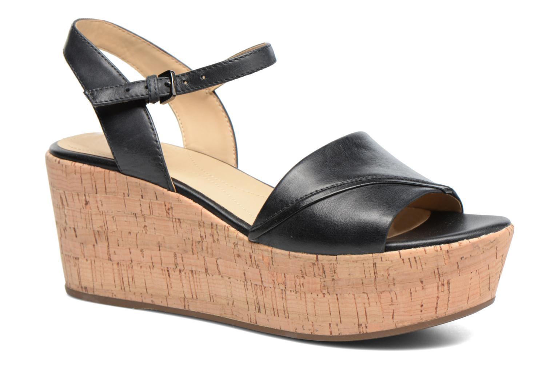 Sandales et nu-pieds Geox D SAKELY A D724VA Noir vue détail/paire