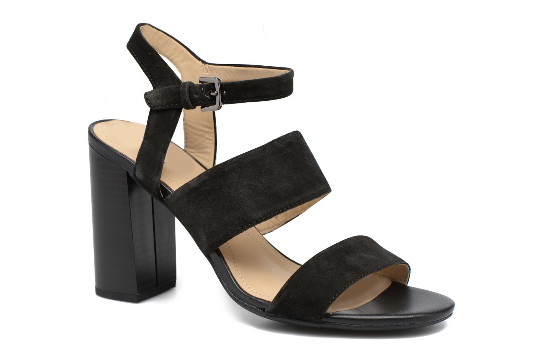 Sandales et nu-pieds Geox D AUDALIES H.SAN. A D724WA Noir vue détail/paire