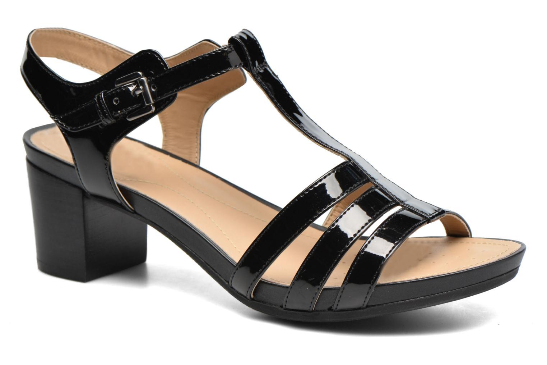 Sandales et nu-pieds Geox D SYMI C D7273C Noir vue détail/paire