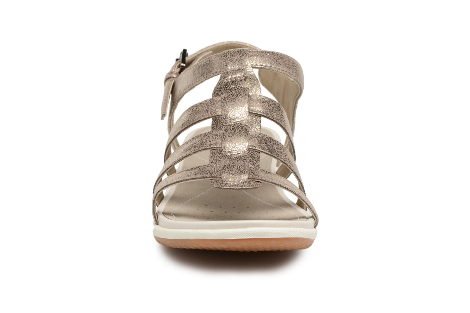 Sandals Geox D SAND.VEGA A D72R6A Silver model view