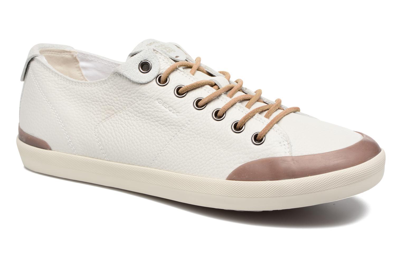 Baskets Geox U SMART E U72X2E Blanc vue détail/paire