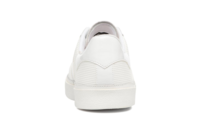 Sneakers Hummel Diamant White Stripes Hvid Se fra højre