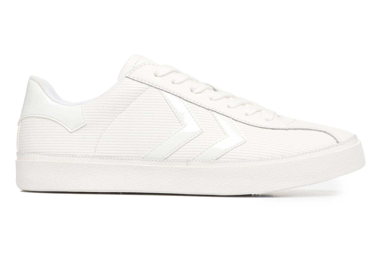 Sneakers Hummel Diamant White Stripes Hvid se bagfra