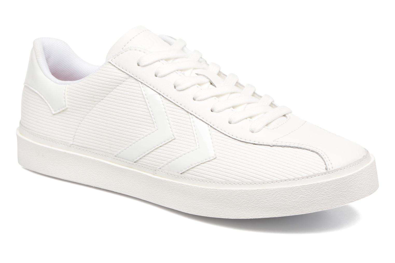 Sneakers Hummel Diamant White Stripes Hvid detaljeret billede af skoene