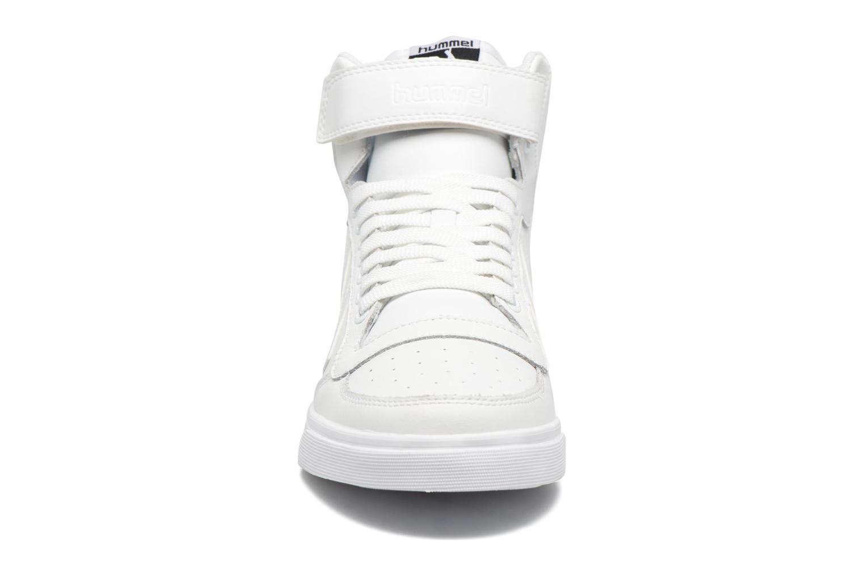 Baskets Hummel Stadil Classic Sport Blanc vue portées chaussures