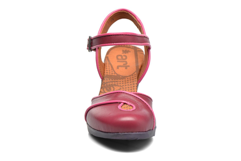 Sandales et nu-pieds Art Rio 269 Bordeaux vue portées chaussures