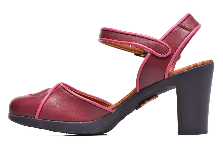 Sandales et nu-pieds Art Rio 269 Bordeaux vue face
