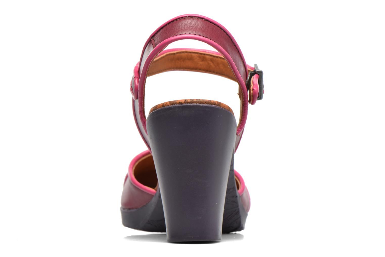 Sandales et nu-pieds Art Rio 269 Bordeaux vue droite