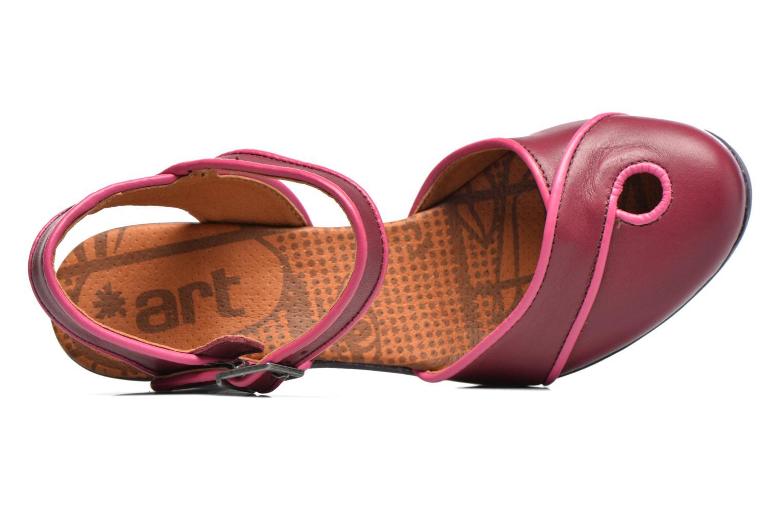 Sandales et nu-pieds Art Rio 269 Bordeaux vue gauche
