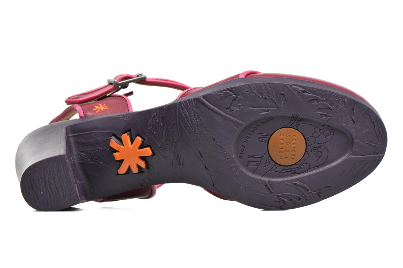 Sandales et nu-pieds Art Rio 269 Bordeaux vue haut
