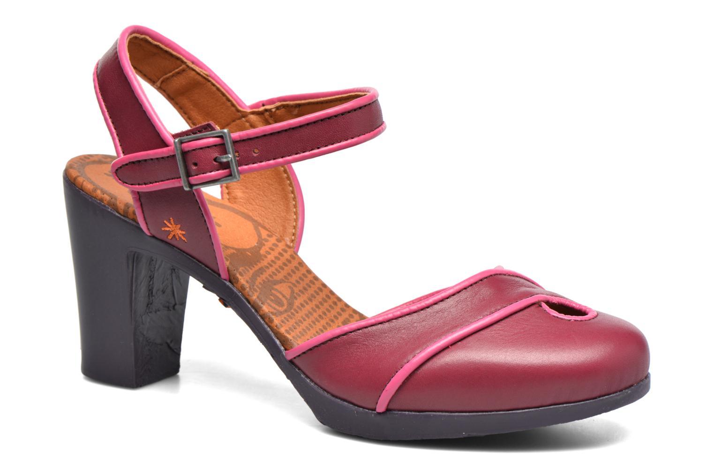 Sandales et nu-pieds Art Rio 269 Bordeaux vue détail/paire