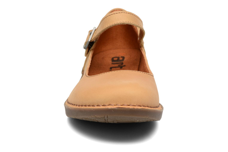 Ballerines Art Bergen 929 Jaune vue portées chaussures
