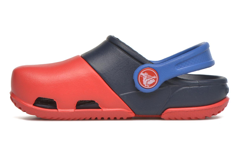 Sandales et nu-pieds Crocs Electro II Clog Rouge vue face