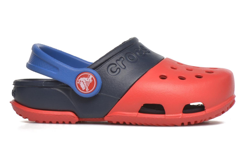 Sandales et nu-pieds Crocs Electro II Clog Rouge vue derrière