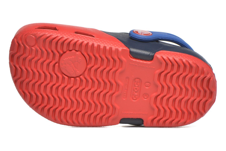 Sandales et nu-pieds Crocs Electro II Clog Rouge vue haut