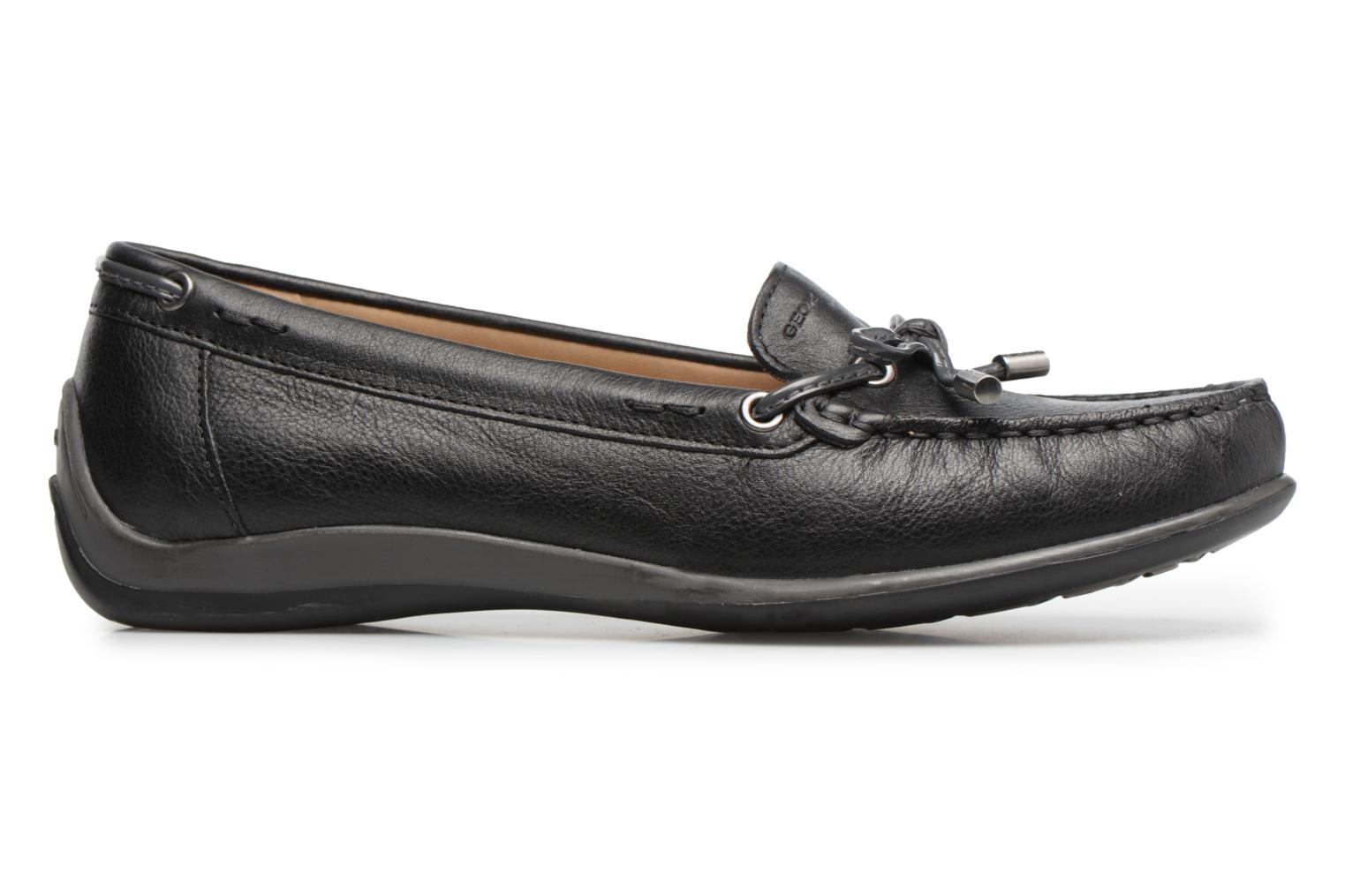 Loafers Geox D YUKI A D6455A Black back view