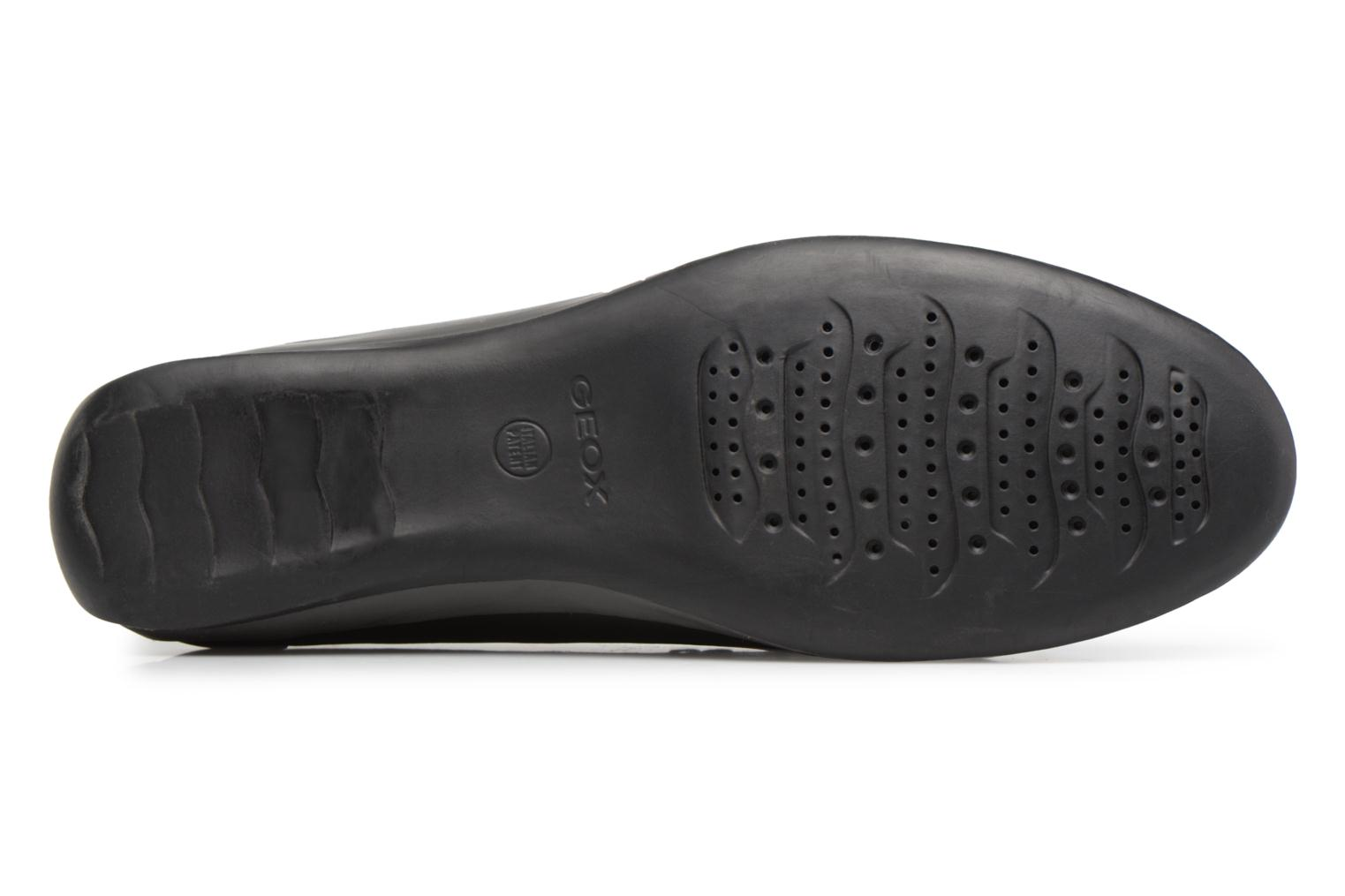 Loafers Geox D YUKI A D6455A Black view from above