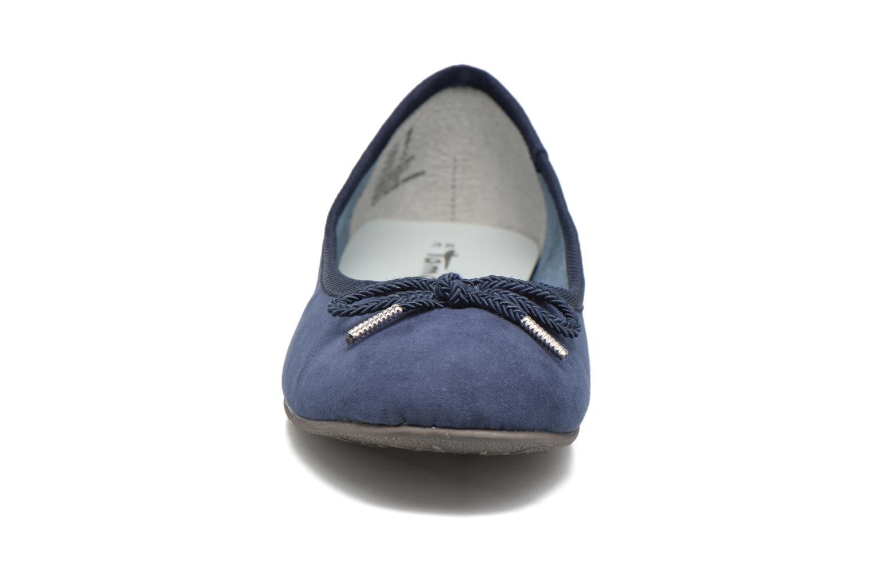 Ballerines Tamaris Dahlia Bleu vue portées chaussures