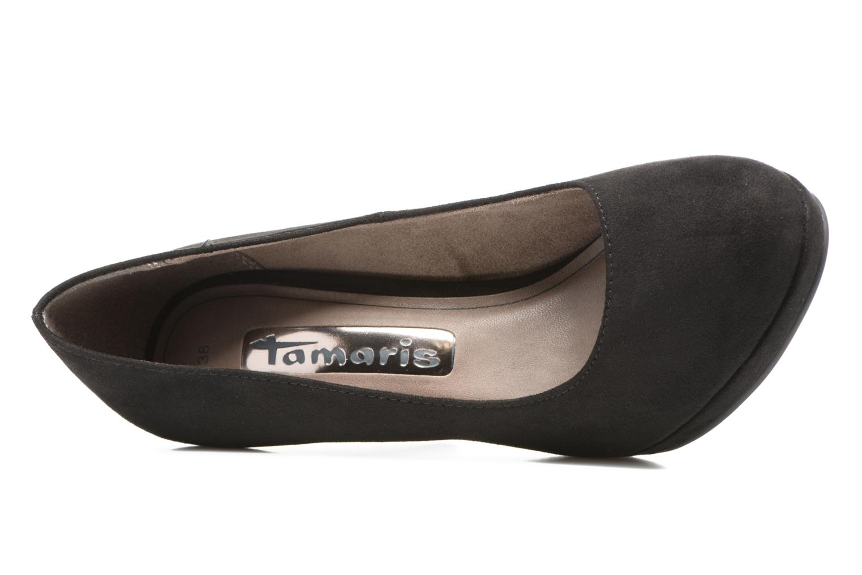 Escarpins Tamaris Freesia Noir vue gauche
