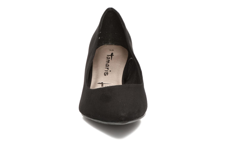 Escarpins Tamaris Glaieul Noir vue portées chaussures