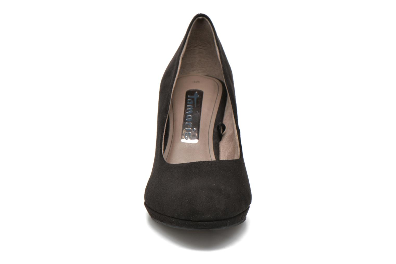 Escarpins Tamaris Hellébore Noir vue portées chaussures
