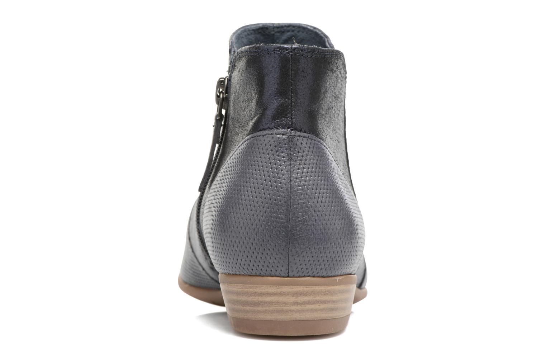 Bottines et boots Tamaris Esparcette Bleu vue droite
