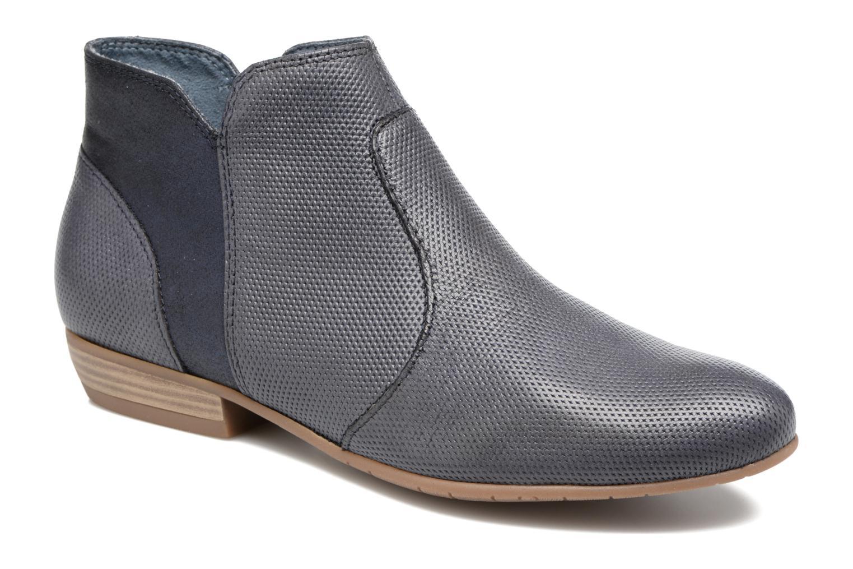 Bottines et boots Tamaris Esparcette Bleu vue détail/paire