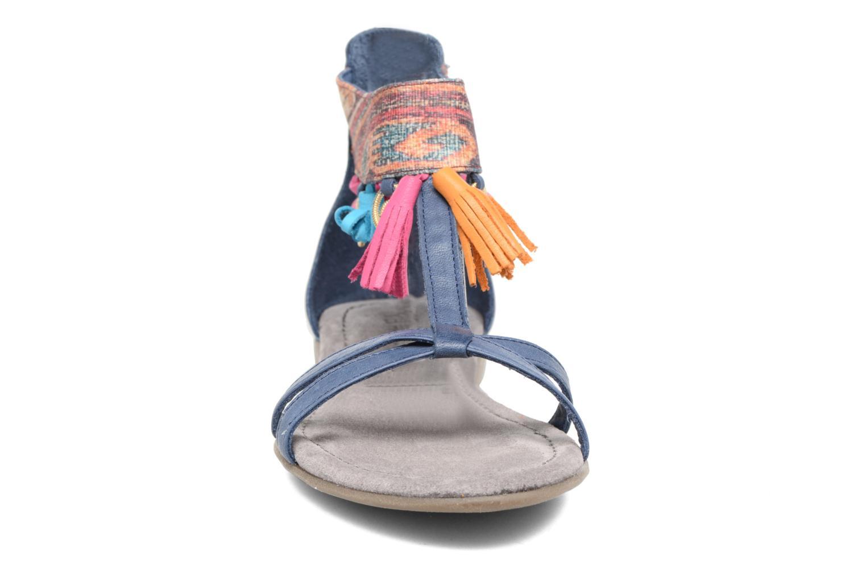 Sandales et nu-pieds Tamaris Kalmie Bleu vue portées chaussures