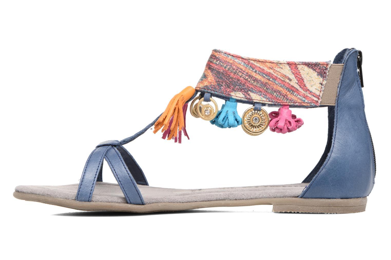 Sandales et nu-pieds Tamaris Kalmie Bleu vue face