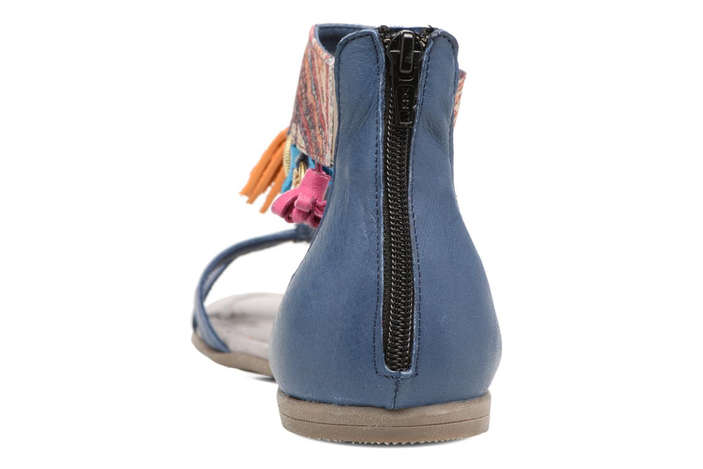 Sandales et nu-pieds Tamaris Kalmie Bleu vue droite