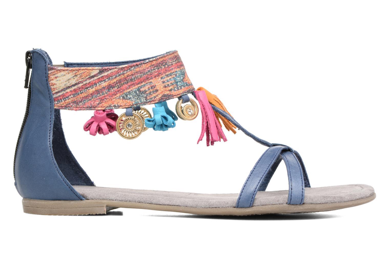 Sandales et nu-pieds Tamaris Kalmie Bleu vue derrière