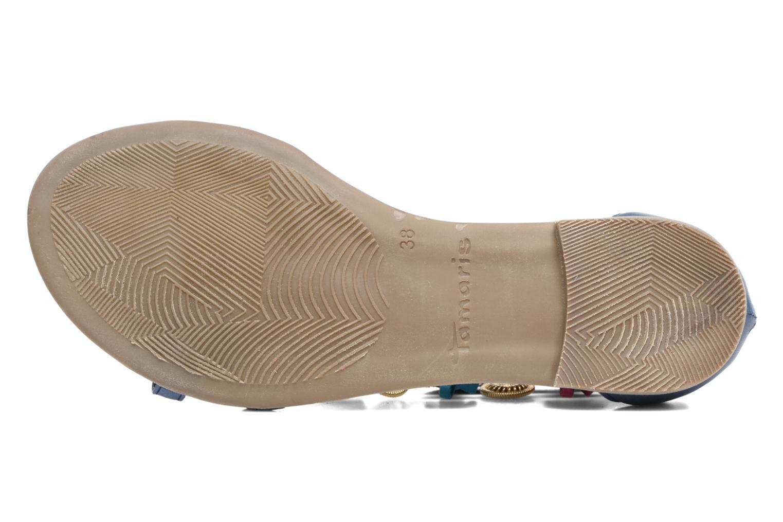 Sandales et nu-pieds Tamaris Kalmie Bleu vue haut