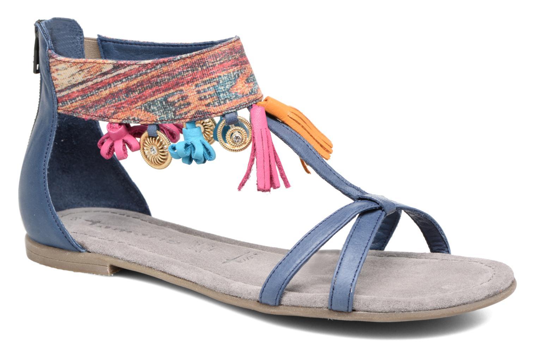 Sandales et nu-pieds Tamaris Kalmie Bleu vue détail/paire