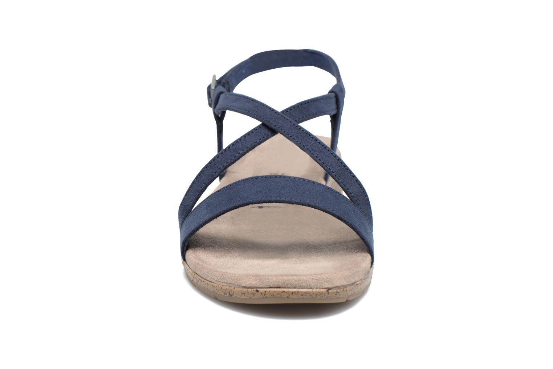 Sandales et nu-pieds Tamaris Mélisse Bleu vue portées chaussures