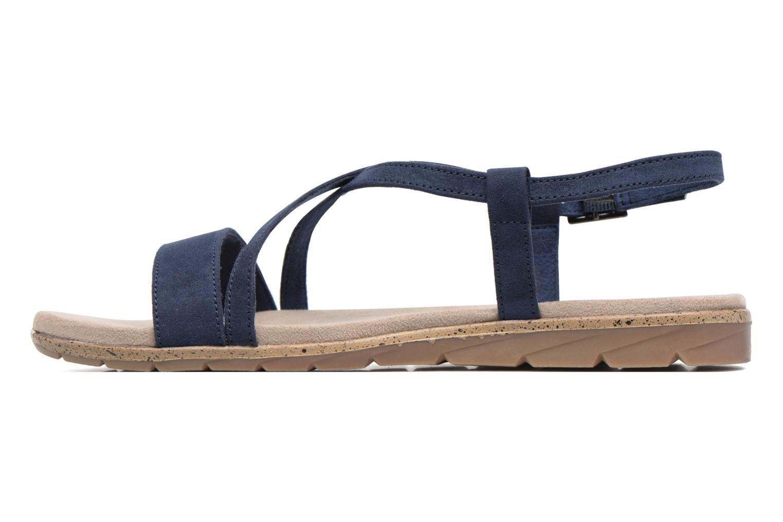 Sandales et nu-pieds Tamaris Mélisse Bleu vue face