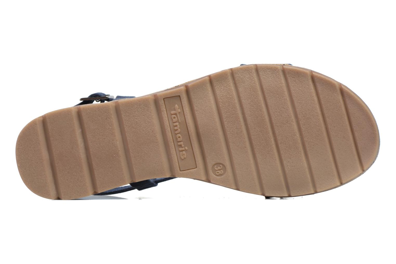Sandales et nu-pieds Tamaris Mélisse Bleu vue haut