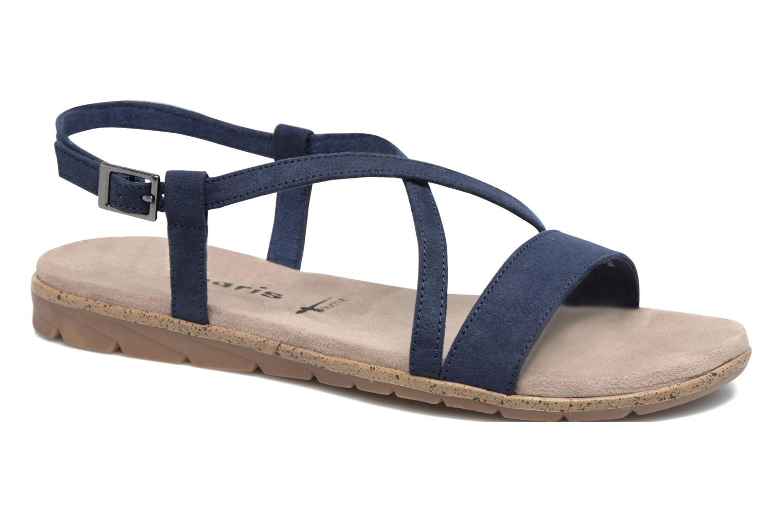 Sandales et nu-pieds Tamaris Mélisse Bleu vue détail/paire