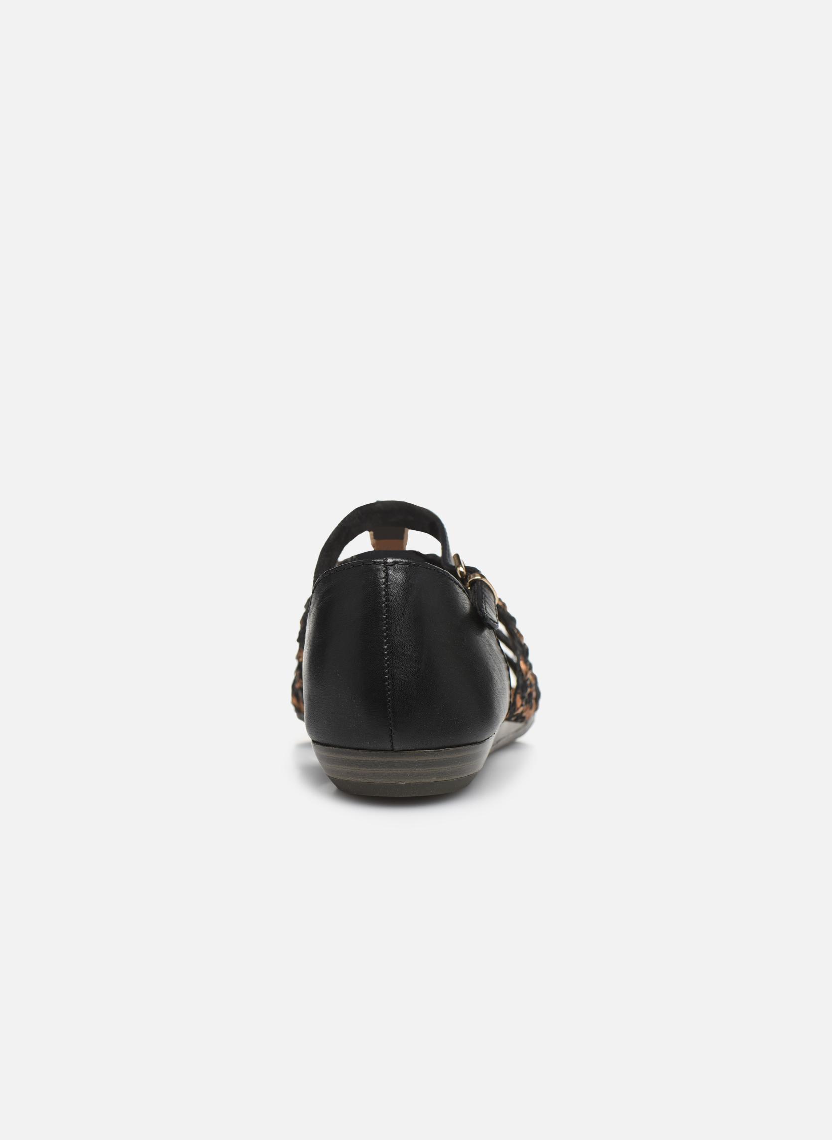 Sandales et nu-pieds Tamaris Muscari Noir vue droite