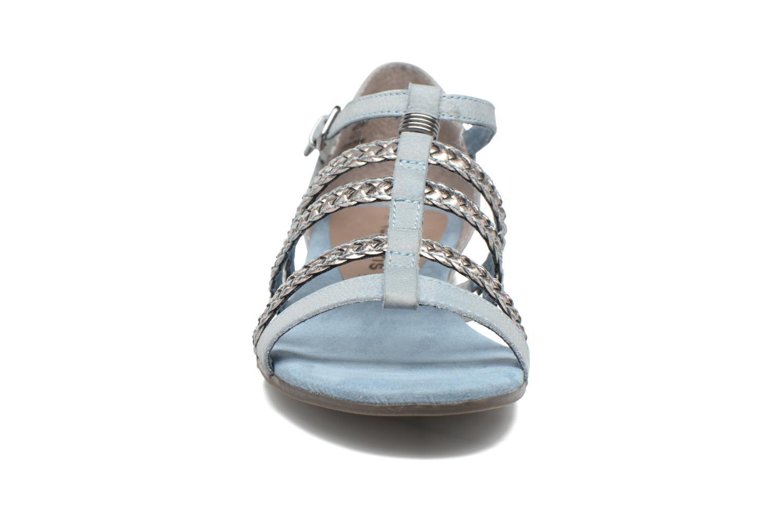 Sandales et nu-pieds Tamaris Muscari Bleu vue portées chaussures