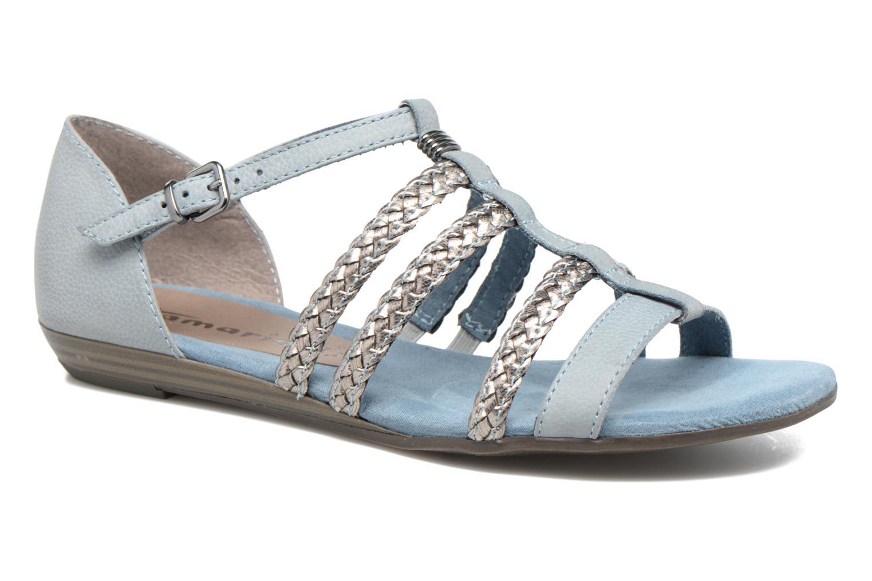 Sandales et nu-pieds Tamaris Muscari Bleu vue détail/paire