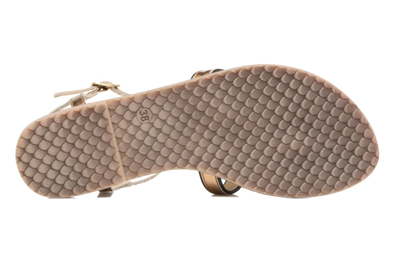 Sandales et nu-pieds Tamaris Phacélie Or et bronze vue haut