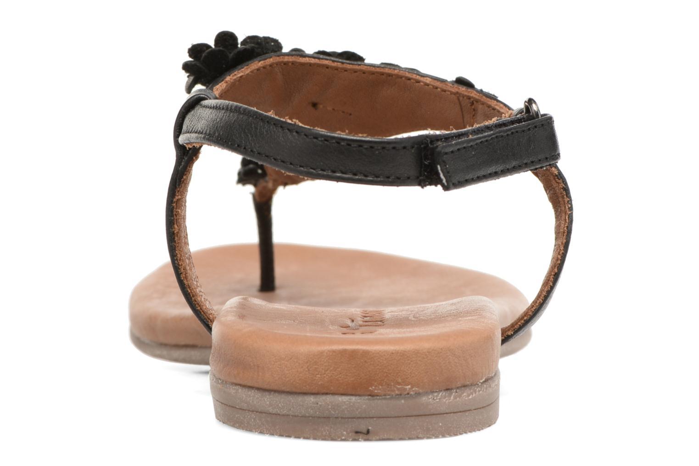 Sandales et nu-pieds Tamaris Sanve Noir vue droite