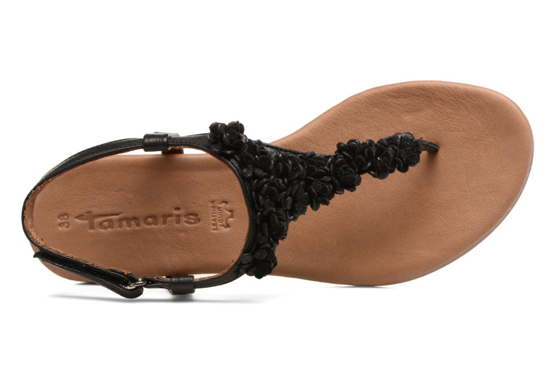 Sandales et nu-pieds Tamaris Sanve Noir vue gauche